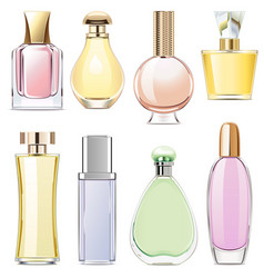 Fragrance icons vector