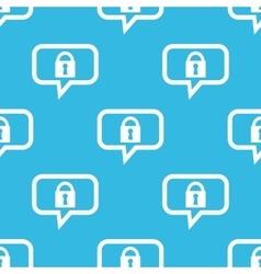 Locked message pattern vector