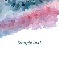 Mosaic background2 vector image vector image