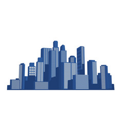 sunrise cityscape stock vector image