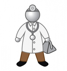 doctor glossy vector image