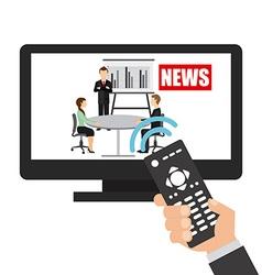 Break news vector