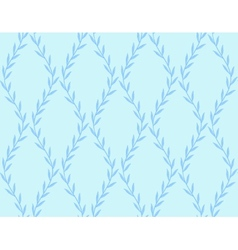 Dark blue floral seamless pattern from leaves on vector