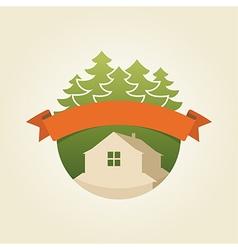 Mountain house 4 vector