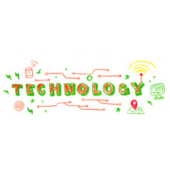 Technology word vector