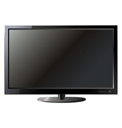 Tv flat screen lcd vector