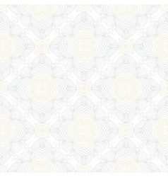 White vintage geometric texture in art deco style vector