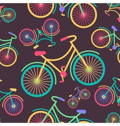 Bicycle Colors 2 vector image