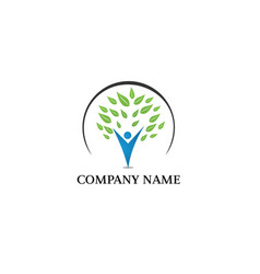 Family logo design vector
