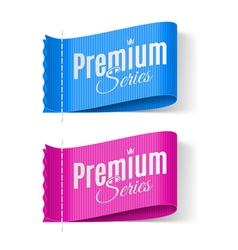 Labels premium vector image