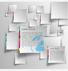 template set vector image