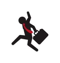 Businessman icon pictogram design graphic vector