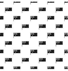 australian flag pattern vector image