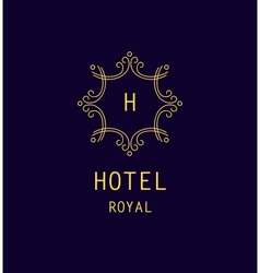 Hotel royal logo vector