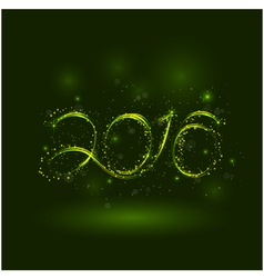 Happy new year 2016greeting card design vector