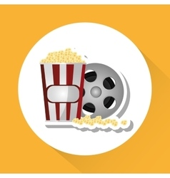 Cinema graphic design vector