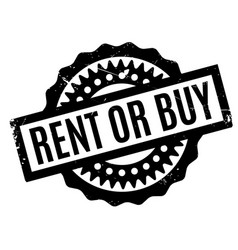 Rent or buy rubber stamp vector