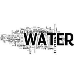 It s not just water under the bridge text vector