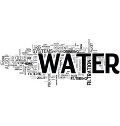 It s not just water under the bridge text vector