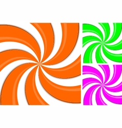 Swirl pattern background spiral line vector