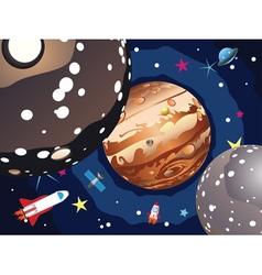 Jupiter planet4 vector