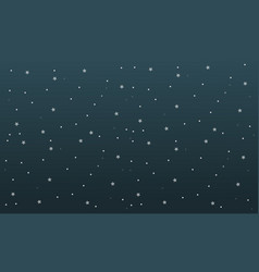 Star background at night vector