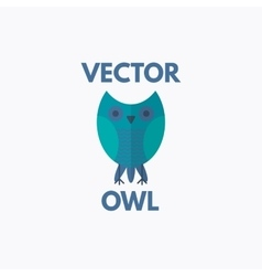 Owl Emblem vector image