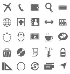 Application icons on white background set 2 vector