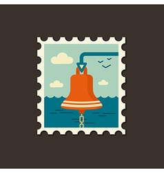 Bell marine icon summer vector