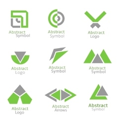Abstract icons vector image