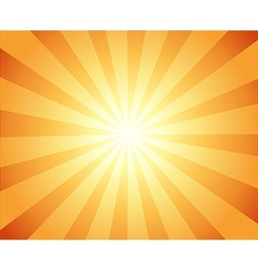 Beautiful sun with rays television vintage vector