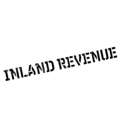 Inland revenue rubber stamp vector