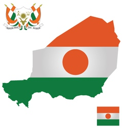 Niger Flag vector image vector image