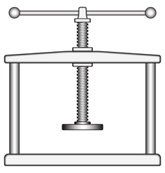 Press vector image vector image