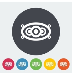 Icon of car speakers vector