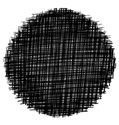 circle stitch vector image vector image