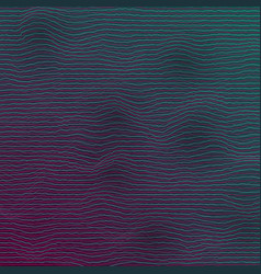 Equalizer frequency glitch effect vector