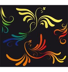 firebird vector image vector image