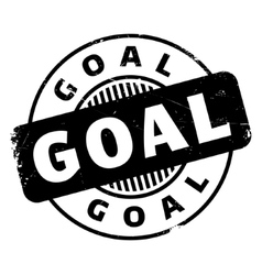 Goal rubber stamp vector