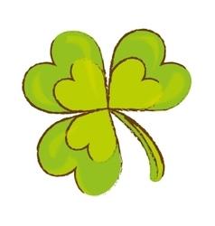 green clover icon vector image vector image