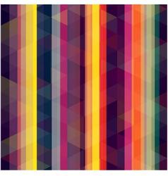 Seamless retro stripe background vector
