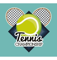 Tennis sport design vector