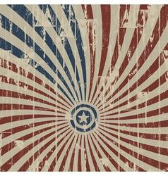 American patriotic background vector