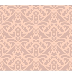 Elaborate pinkish-grey seamless pattern background vector