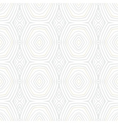 White vintage geometric texture in 1960s style vector