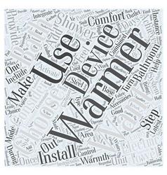 How to choose bathroom accessories word cloud vector