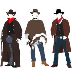 Cowboys vector