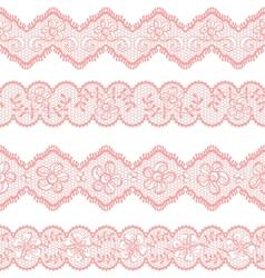 Vintage lace background ornamental flowers texture vector