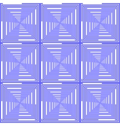 Design seamless blue checked pattern vector