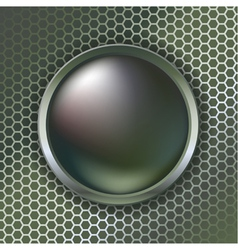 Metallic vector image vector image